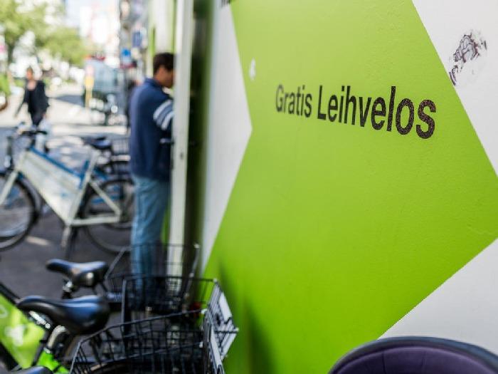 free bikes in zurich