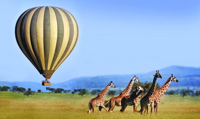 serengeti balloon tanzania honeymoon destinations