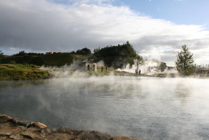 the secret lagoon iceland sightseeing honeymoon 2017
