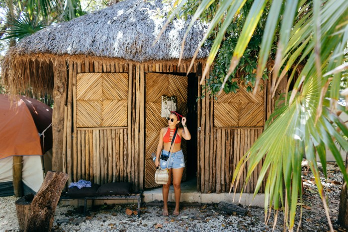 tulum mexico Turquesa Tulum Jungle Camping best place to stay on budget 2017
