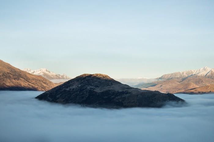 Treble Cone skiing mountain